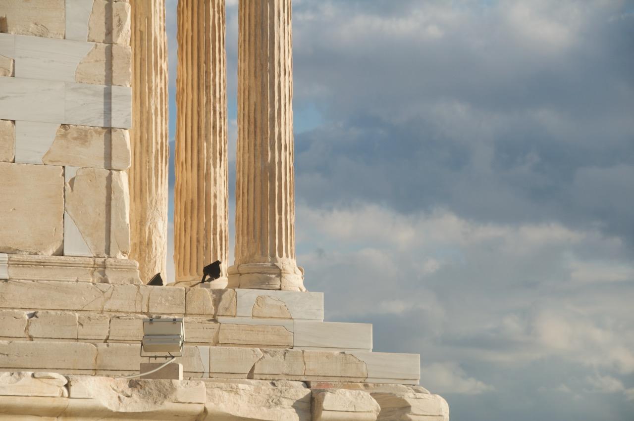 修復されたパルテノン神殿
