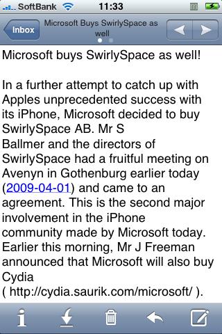 SwirlySpaceも買収