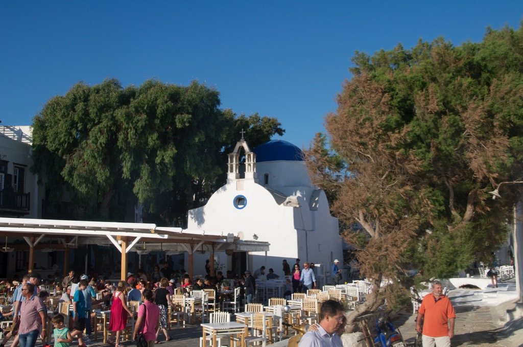 Sea side church