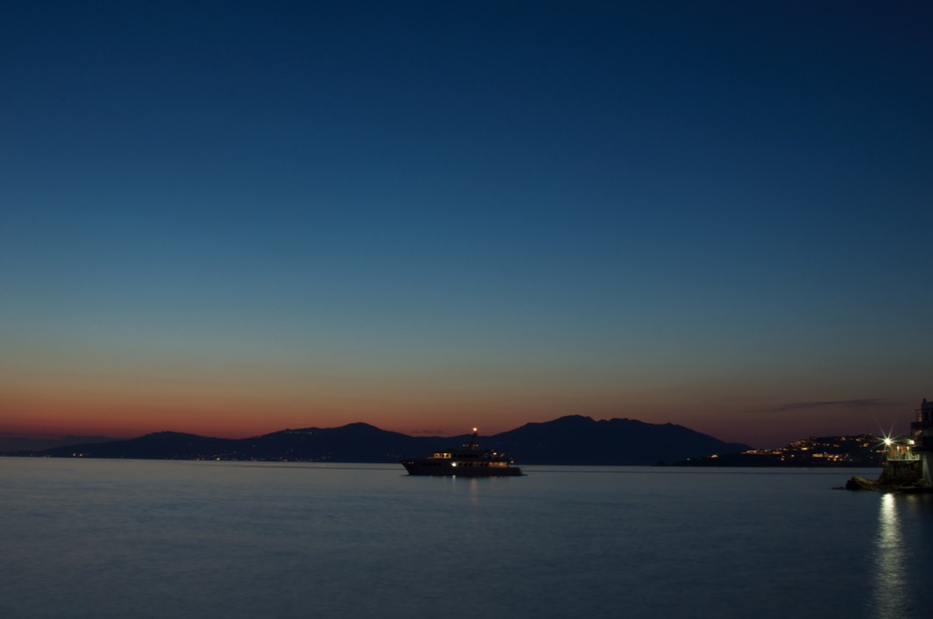 Sea side at Mykonos
