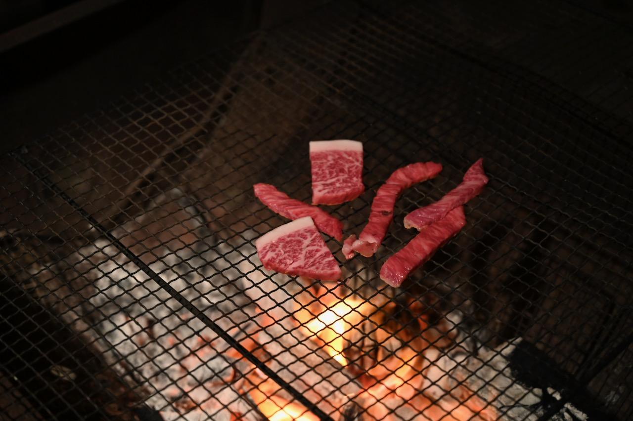豊後牛の焼き肉
