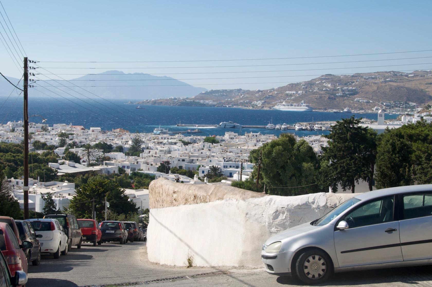 Mykonos scenery