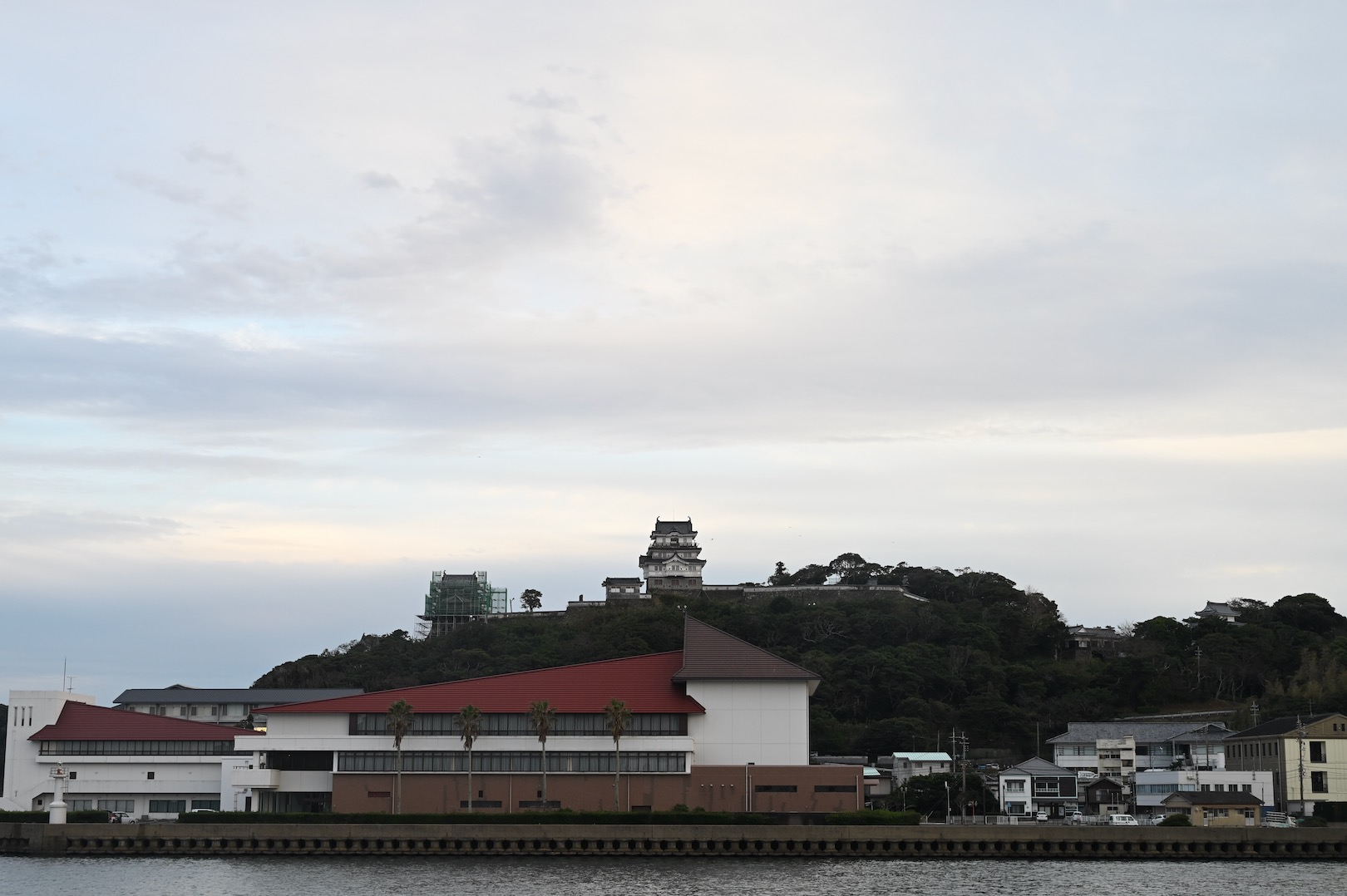 オランダ商館から見る平戸城