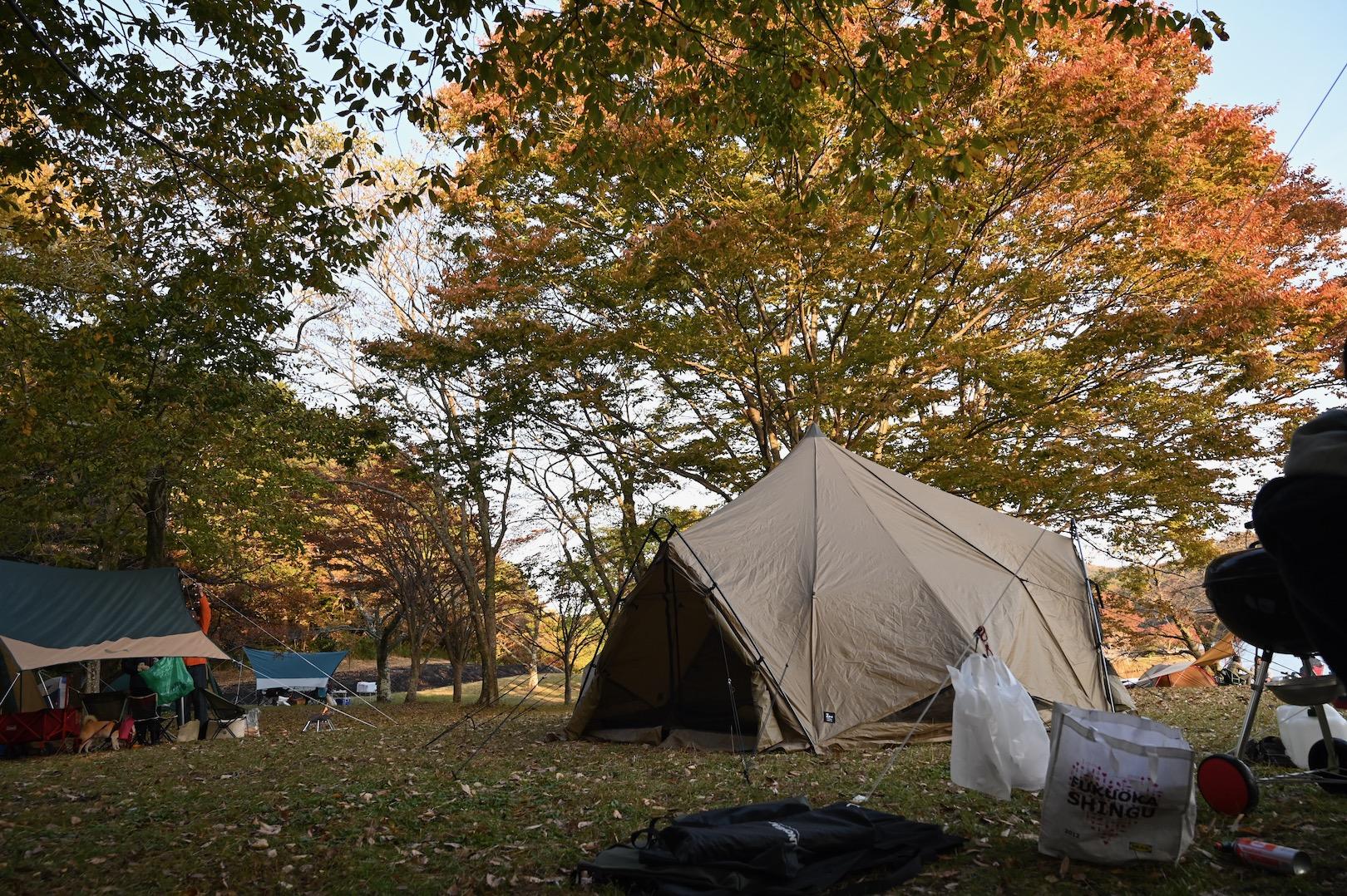 ゼインアーツのテント