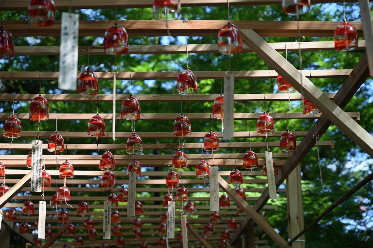 竈門神社の風鈴