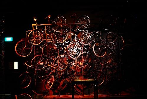 日本軍の自転車