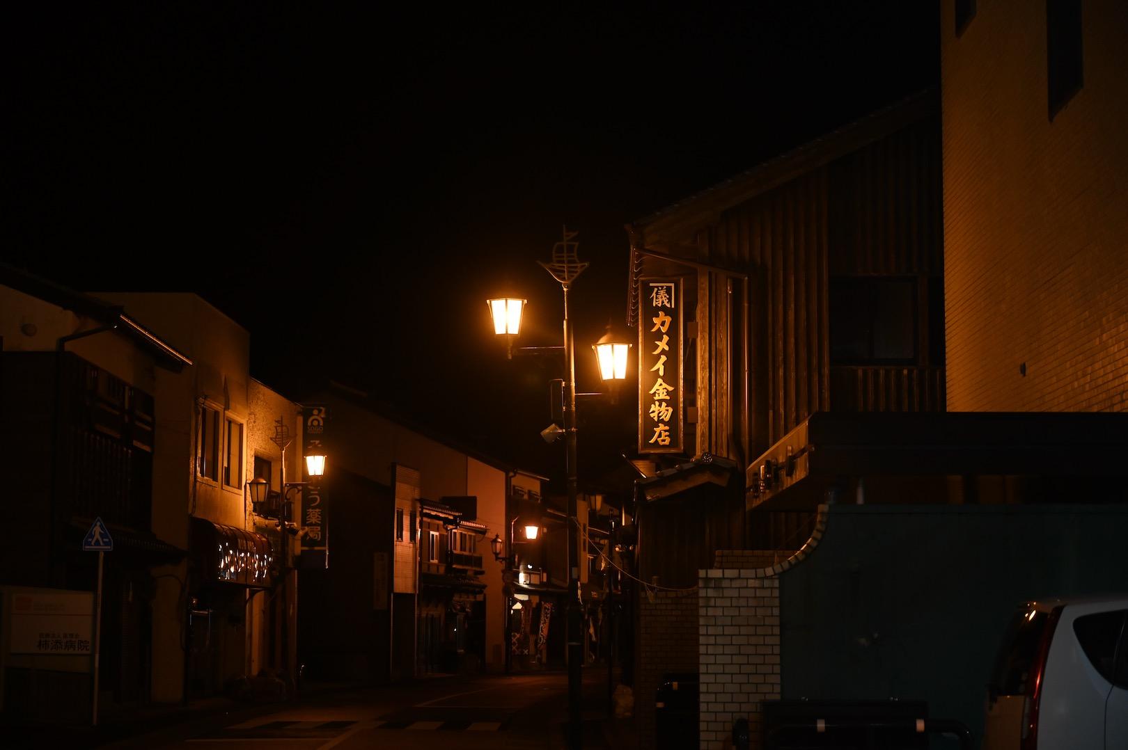 平戸の街並み