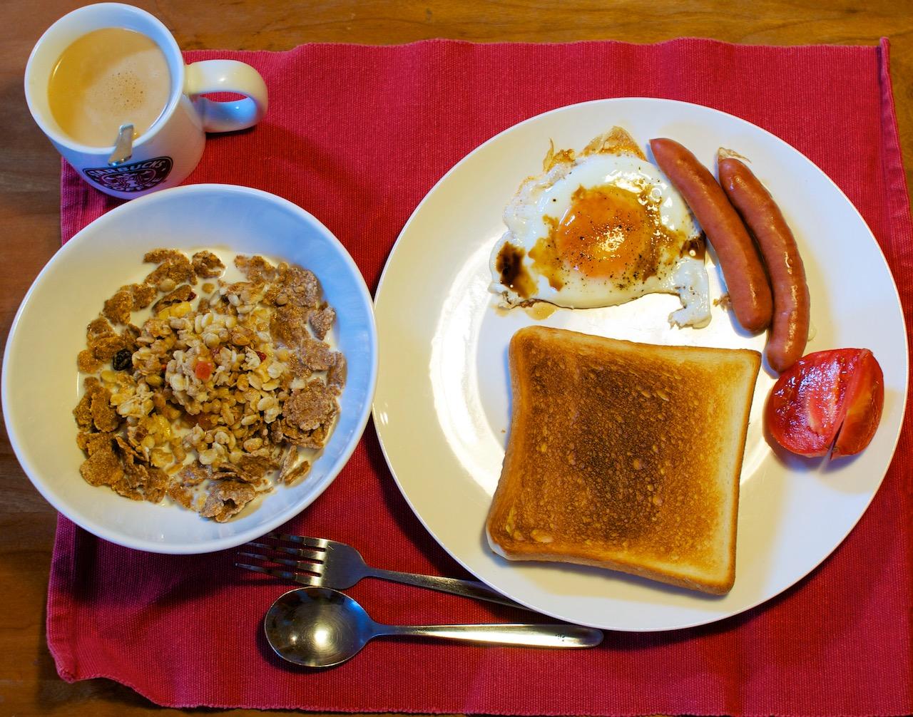 2014年12月6日の朝食