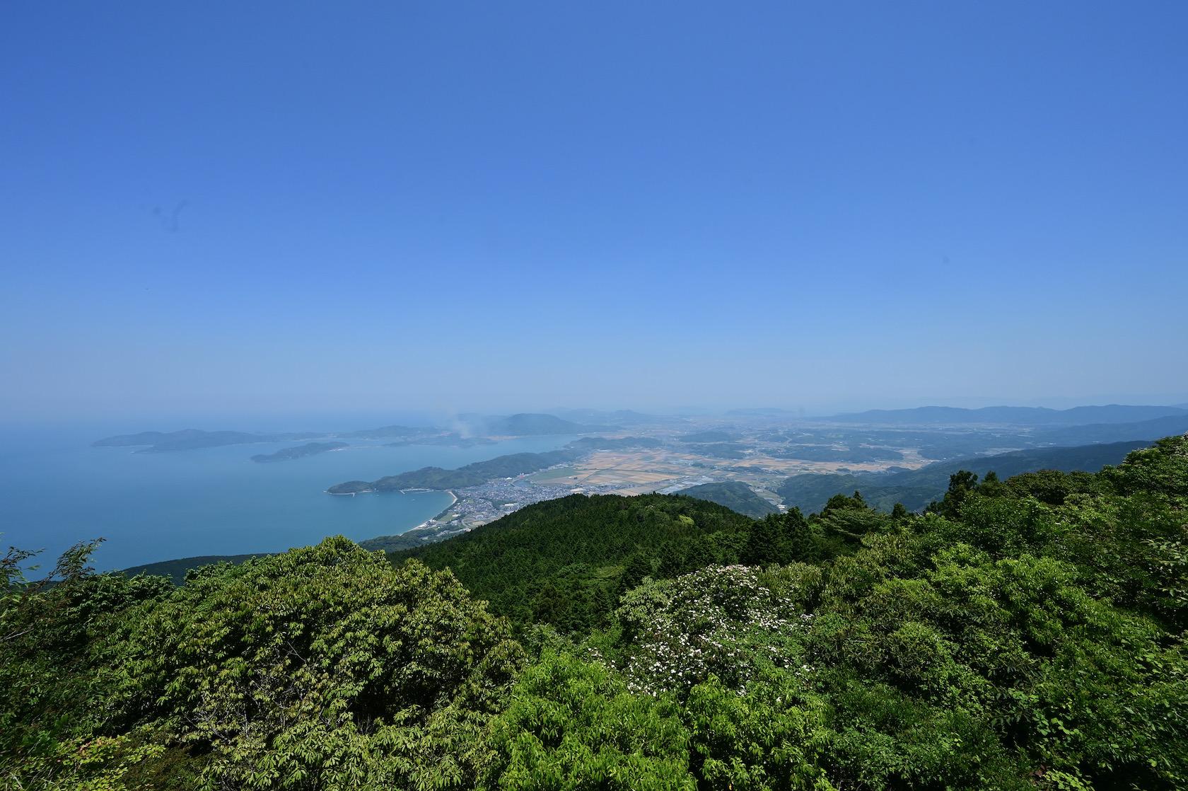 二丈岳山頂からの景色
