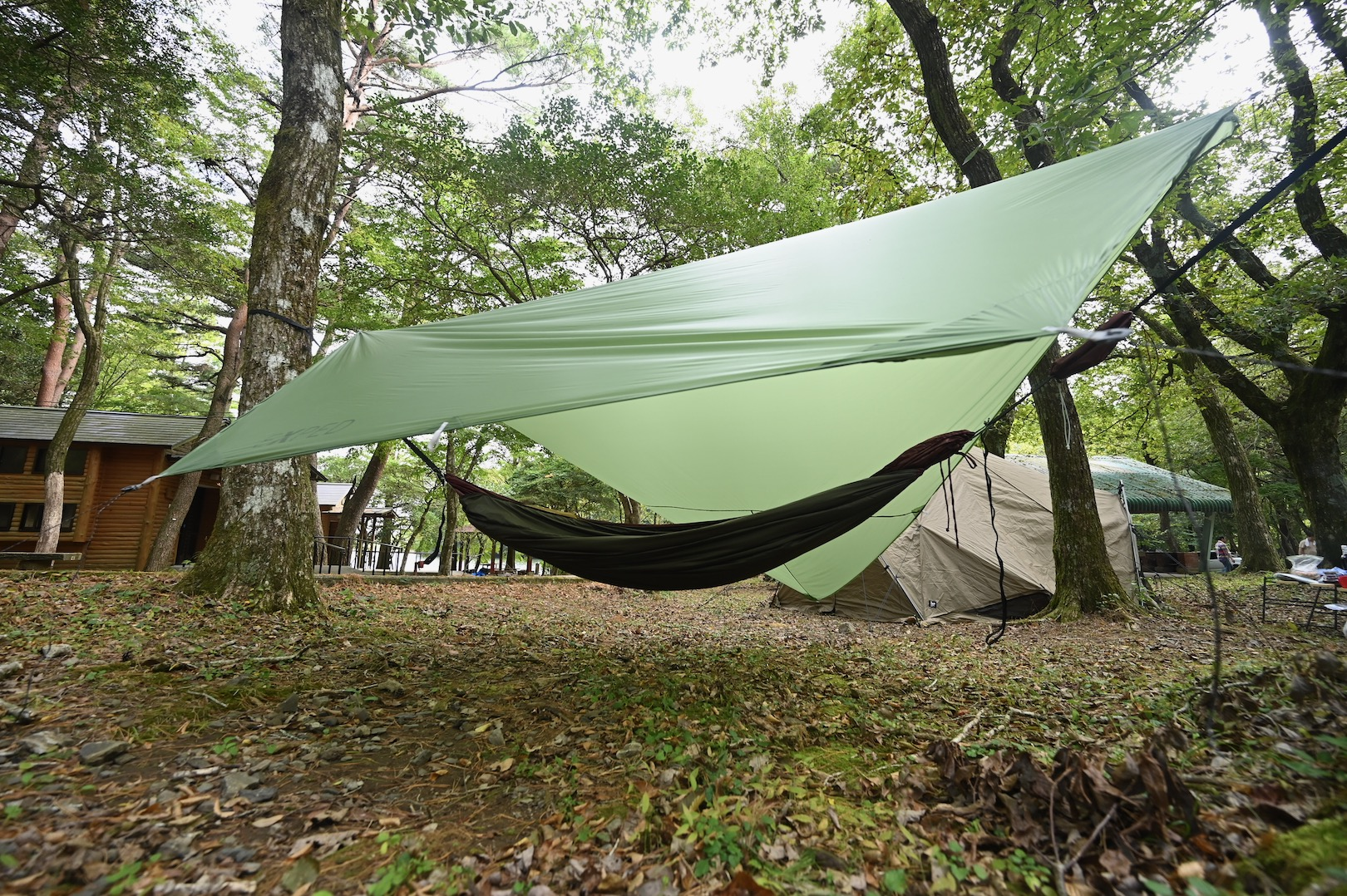 ウキグモ Light & ウンカイ Light & Hammock Trekking Tarp